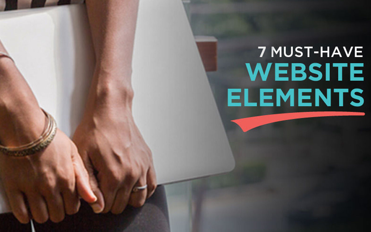 7 must elements for your website